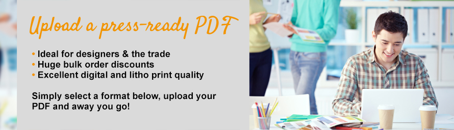 Upload a press ready PDF